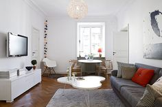 43 Warm and stylish Scandinavian living rooms