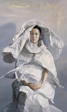 'White Paper Bride' by Zeng Chuanxing                              …                                                                                                                                                                                 Más