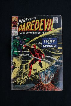 Original Oct 21 1966 Here Comes DAREDEVIL The Trap Is Sprung Marvel