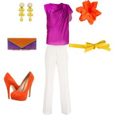 Tropical evening out, created by jenni1013 on Polyvore