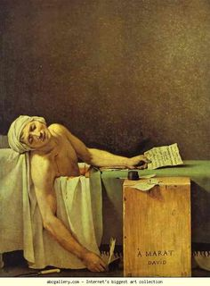 Death of Marat. Olgas Gallery.