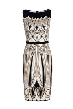 Blumarine Art Deco dress