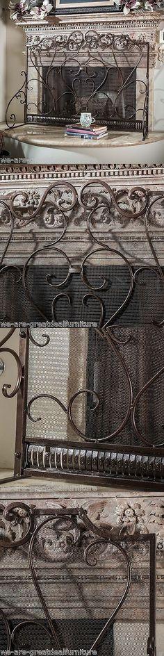 fireplace screens and doors 38221 fireplace mesh curtain 26 high