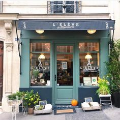 "1,642 Likes, 18 Comments - @the_shopkeepers on Instagram: ""L'élève de Montmartre, Paris @whatsophie_said lovely French #shopfront in my old Paris…"""