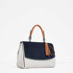 Image 3 of CITY BAG WITH PENDANT DETAIL from Zara