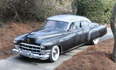 The prototype 1949 Cadillac Coupe deVille debuted at the Amelia Island Concours d'Elegance after decades in hiding. It rides a Fleetwood chassis, unlike production Coupe deVilles.