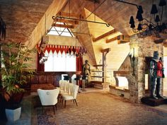 Castle Themed Interiors Cottage style interiors Medieval home decor Castles interior