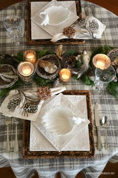 287 best winter tablescapes images in 2019 place settings rh pinterest com
