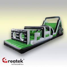 Překážková, nafukovací dráha od výrobce REATEK. Nafukovací překážkové dráhy pro mládež a dospělé od výrobce REATEK Inflatables.