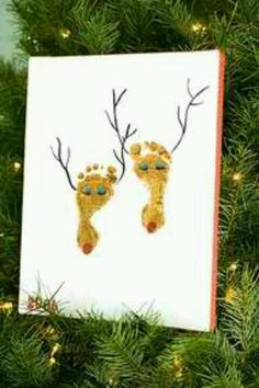 Little reindeers, perfect craft for infants