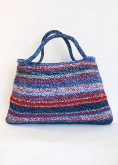 Crochet bag by Ella Kolanowska