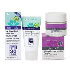 ipsyMe: derma e Complexion + Protection Kit for just $25.00 | ipsy. ipsyMe: derma e Complexion + Protection Kit for just $25.00 | ipsy. Includes the Microdermabrasion Scrub and the Antioxidant Natural Sunscreen Oil-Free Face Lotion with SPF30. $52.25 worth of products for $25!! Hurry, while supplies last!
