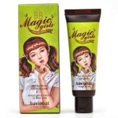 Baviphat Magic Girls BB Cream Fresh for Oily Skin! (my BF is creeped out by the packaging! Foundation Colors, Perfect Foundation, Portulaca Oleracea, Creeped Out, Best Natural Skin Care, All Things Beauty, Makeup Tools, Oily Skin, Hair And Nails