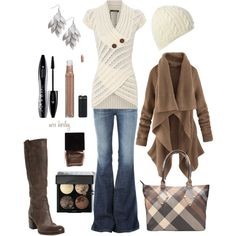 Apparently I really NEED this sweater! I have pinned or liked several outfits that contain it! :-)