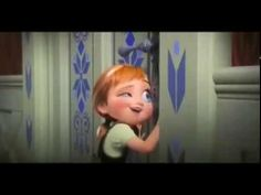 Do You Want to Build A Snowman? movie scene Frozen