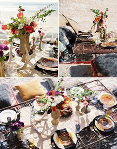 Bohemian Beach Wedding Ideas | Green Wedding Shoes | Weddings, Fashion, Lifestyle + Trave