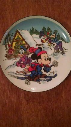 """Snow Big"" Walt Disney 1985 Limited Edition Collector Plate"