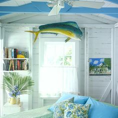 10 ways to Beach-up Your Home! from Coastal Living Magazine.