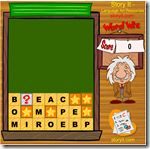 Word Wiz-Make as many words as you can from the letter tiles. Get the question mark tile to the bottom and a vocabulary question appears. Select the best meaning of the word and earn extra points.