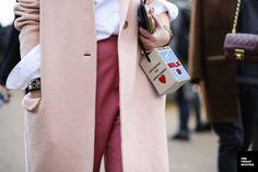 On the Street…..Fashion Details - Milan Fashion Week, Fall/Winter 2014-2015 -