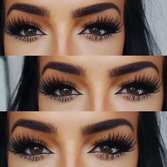 Imagem de makeup, eyes, and eyebrows