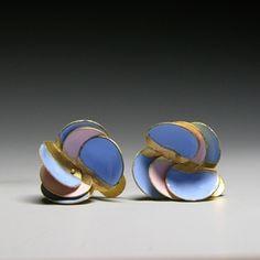 Jacqueline Ryan: Ocean; Open Clam Earrings
