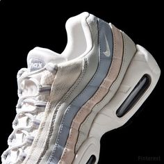NIKE Women's Shoes - The Nike Air Max 95 Trainer in Phantom and Wolf Grey is out now. - Find deals and best selling products for Nike Shoes for Women Nike Air Max, Nike Free Shoes, Running Shoes Nike, Running Sports, Nike Slippers, Nike Free Runners, Discount Nikes, Nike Shoes Outlet, Toms Outlet