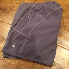 LULULEMON Running Shorts Purple ruffle trimmed running shorts with zippered key pocket. Top rated seller  Fast Shipper  15% Bundle Discounts  Motivated Seller and Accepts all reasonable offers! lululemon athletica Shorts