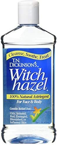 Dickinson's Witch Hazel Cleansing Astringent, 16 Fl Oz Dickinson's Witch Hazel Cleansing Astringent, 16 Fl Oz Witch Hazel Uses, Witch Hazel For Skin, Witch Hazel Toner, Essential Oil Perfume, Essential Oils, Medical Gifts, Toner For Face, Skin Care Remedies, Cleaning