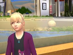 Sims 4 Updates: Birksches Sims Blog - Hairstyles : Ponytails for Girls, Custom Content Download!