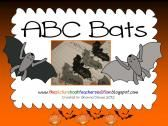 ABC Bats product from All-Things-Picture-Books on TeachersNotebook.com