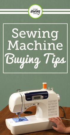 If you're thinking about buying a new sewing machine, this is the video for you. Kristin Tabor shares three basic questions that we should ask ourselves when beginning the sewing machine buying process. Depending on what type of sewer you are, your skill level, and the amount you are willing to spend, this video will help you decide on the perfect machine for you.