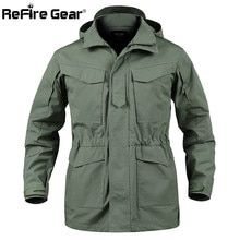 Jaqueta militar com bolsos