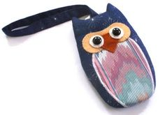 owl cell phone pouch!