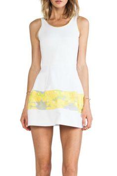 Marilyn Leaf-Print Dress - main