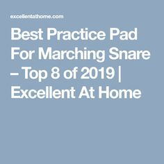Best Practice Pad For Marching Snare – Top 8 of 2020 Acoustic Drum, Drum Pad, Drumline, Snare Drum, Drum Kits, Ready To Play, Best Practice, Rebounding, Thing 1 Thing 2