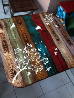 Love these colours - ccl armarios paint furniture, diy furniture, funky hom Diy Furniture Projects, Funky Furniture, Paint Furniture, Repurposed Furniture, Furniture Makeover, Wood Projects, Furniture Removal, Furniture Online, Funky Home Decor