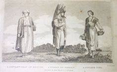 A Gentlewoman Of Moscow A Woman Of Siberia A Finland Girl., English. R. Scott Sc. Edin. (Published: Edw'd. Khull & Co. 1830 ca. Glasgow)