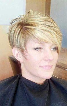 6.Short Hair Women Over 50