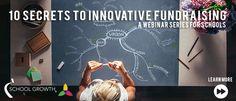 10 Secrets to Innovative School Fundraising: http://www.renweb.com/Blog/EntryId/458/Free-Webinar-Series-on-School-Fundraising.aspx