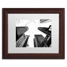 Trademark Art 'Pixels Print Times Square' by Philippe Hugonnard Framed Photographic Print Size: 1