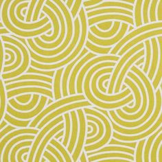 A modern knot print in citrine-mustard yellow and white.Perfect for drapery…