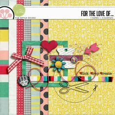 For the love of representing the Digi Scrap parade by Pink reptile designs  CD #27