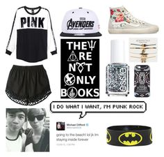 """Read D! I'm back!!"" by froyolover002 ❤ liked on Polyvore featuring Victoria's Secret PINK, Carven, Vans, Essie, Aéropostale, County Of Milan, 5sosfam, mcm, ashtonirwin and dibsonthedrummer"