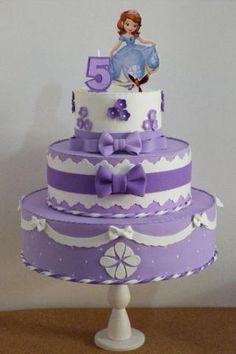 Resultado de imagem para bolo fake da princesa sofia