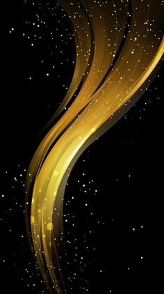 Abstract shape yellow-black with gold and shine . Phone Screen Wallpaper, Live Wallpaper Iphone, Wallpaper Space, Gold Wallpaper, Cellphone Wallpaper, Galaxy Wallpaper, Mobile Wallpaper, Huawei Wallpapers, Best Iphone Wallpapers