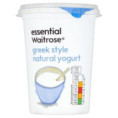 Waitrose Yogurt