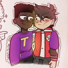 Clyde South Park, South Park Characters, Fictional Characters, Gay, Ship Art, Cover Art, Cute Couples, Fangirl, Bunny