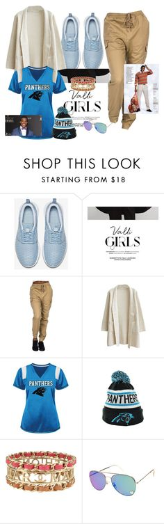 """""""Still gonna support my baby: CAM NEWTON"""" by naturallydee ❤ liked on Polyvore featuring NIKE, Chanel, women's clothing, women, female, woman, misses and juniors"""