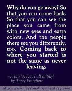 Image result for quotes about returning home
